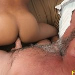 The Horny Student Rides His Daddy Dick