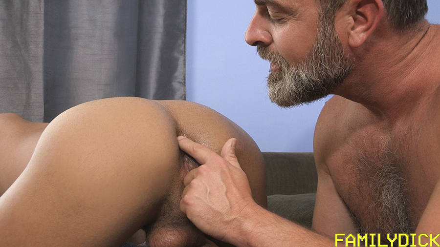 An Young Student Takes A Bareback Dick