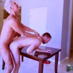 Silver Steele Bareback Fucks Alex Hawk