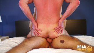 Muscle Bears Bareback:  Angel Ferrari and Dale Savage