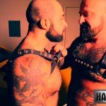 Leather Bears Bareback: Marc Angelo and Atlas Grant