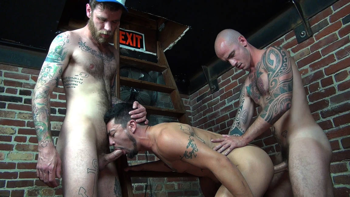 Ryan Powers Fucks Cory Koons and Cam Christou