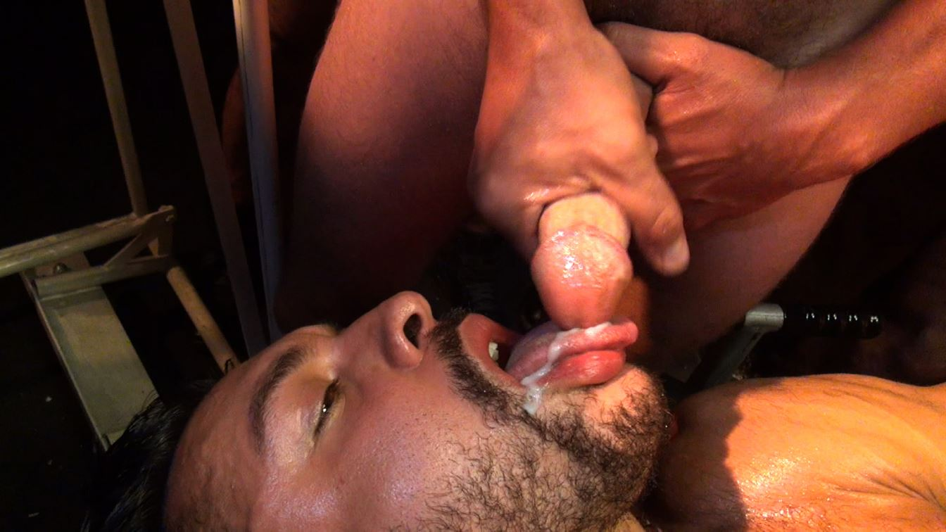 Seth Santoro Gets Gang Banged - Part 1