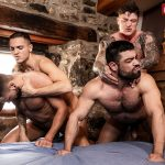 Bareback Fucking: Leo Rex, Jeffrey Lloyd, Wagner Vittoria and Geordie Jackson