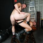 Brian Bonds Is Raw Fucking Leather Stud Sean Harding