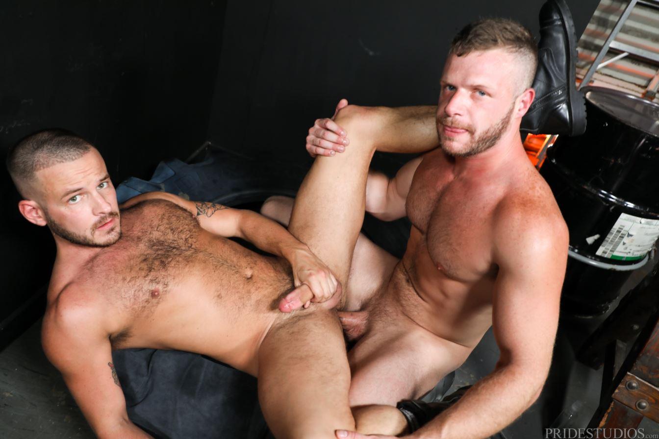 Brian Bonds Is Raw Fucking Leather Stud Sean Harding 1
