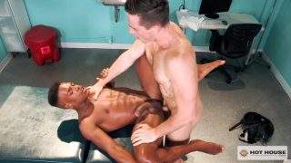 Adrian Hart Gets Fucked By The Dirty Doctor Steven Lee
