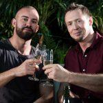 New Year's Swipe: Pierce Paris & Bruno Max