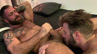 Jake Nicola Owns Teddy Bears Furry Muscle Ass!