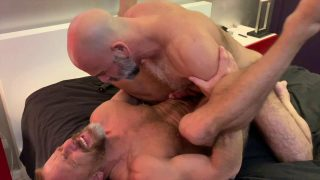 Jake Nicola, Adam Russo and Dirk Caber have some flip fucking fun: Part 1
