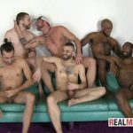 Real Men Hot Beard Orgy