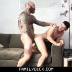 Tattooed Daddy Jack Dixon Barebacks Dylan Hayes