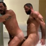 Jake Nicola Dicks his Daddy Vince Parker Down In The Shower