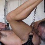 Muscle Daddy & Bear Daddy Raw Fucking
