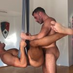 Aerial Fuck Scene with Zario Travezz and Manuel Skye