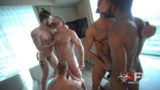 Muscle Fuck Orgy, part 1