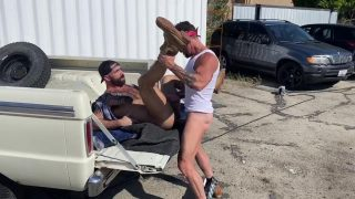 Pickup Truck-n-Fuck:  Jake Nicola & Vince Parker