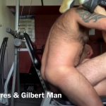 Fucking at the gym with Gilbert Man
