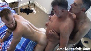 Tyla, Max & Don Have Bareback Fun