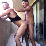 Cesar Xes gives Brian Bonds a good pounding