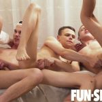 Fun Size Boys: Bareback Covid Orgy