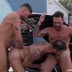 Jake Nicola, Vince Parker & Chris Damned - Bareback