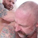 Riley Mitchel & Musclebear Montreal - Flip Fuck