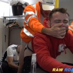 """Horny painter takes out anger on apprentice's cunt with 10"""" tool"""