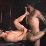 Alpha Wolfe Stretches Pup Riley Landon's Hole RAW