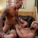 Isaac X & Cole Connor Bareback Each Other's Hole