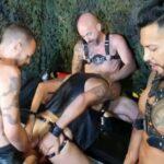 Bareback & Leather Orgy In Barcelona