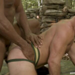 Outdoor Bareback With Grant Ryan & Andre Donovan