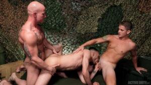 Brandon Anderson, Niko Carr & Hugo Santana - Bareback