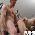 Fun Size Boy Marcus Rivers Enjoys Legrand Wolf's Dick